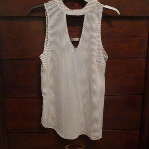 Pin stripped casual shirt